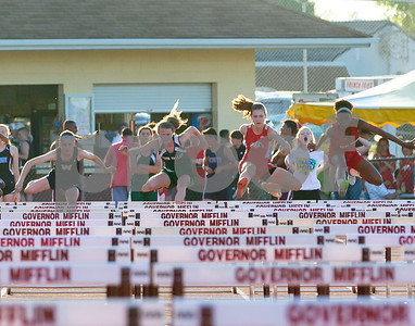Kara Brown Middle school track 5-12-18