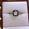 .53ctw Rose Cut Halo Ring, by Single Stone 31
