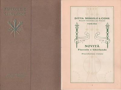 Italian type prospectuses - Campionari e prospetti di caratteri italiani