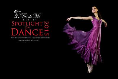 Pas De Vie Spotlight on Dance Posters