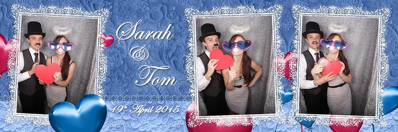 Wedding of Sarah & Tom Photostrips