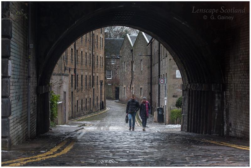 Croft-an-Righ and Abbeyhill railway bridge, Edinburgh