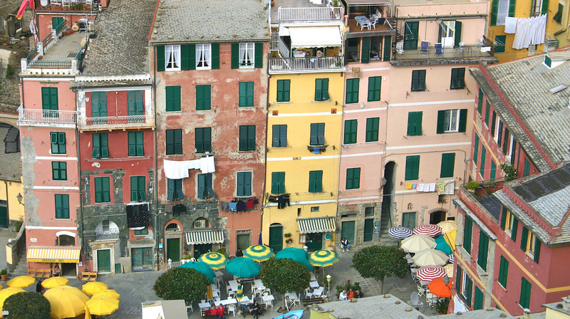 Vernazza from the Castle