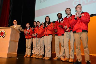 2013 Graduation Team Photos - City Year Boston - Northeastern University - 6.13.13