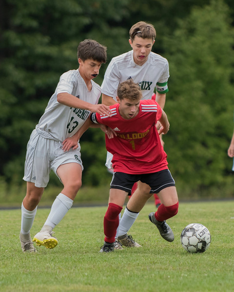2019 Boys Soccer:  Hall-Dale vs Spruce Mtn