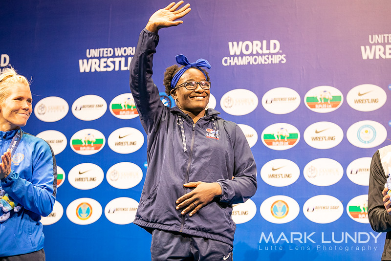 Tamyra Mensa Stock 68kg World Champion - 2019 World Championships