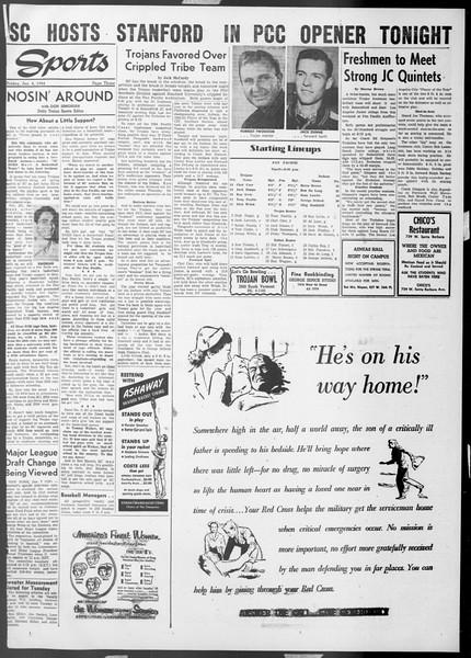 Daily Trojan, Vol. 45, No. 66, January 08, 1954