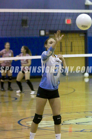 Liberty at Sullivan West Volleyball 10-7-16