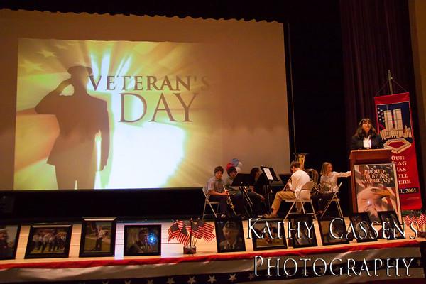 Veterans Day Assembly 2010
