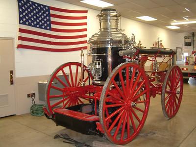 1881 Ahrens Fire Engine