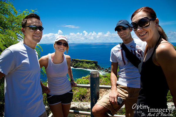 AUGUST 3, 2012:  FORBIDDEN ISLAND WITH CHRIS, RYAN, MAILE, and JESSICA
