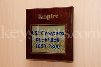 USS Cowpens Khaki Ball 2012