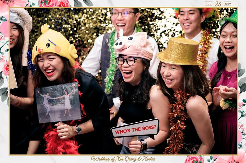 Wedding of Xin Qiang & Xinhui | © www.SRSLYPhotobooth.sg