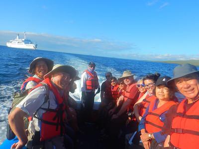 May 2018 MV Galapagos Legend Guides' Photos