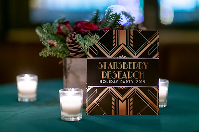 Stansberry Research's 20th Anniversary Party 12-14-19