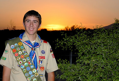 Michael's Eagle Scout Ceremony 5.27.2006