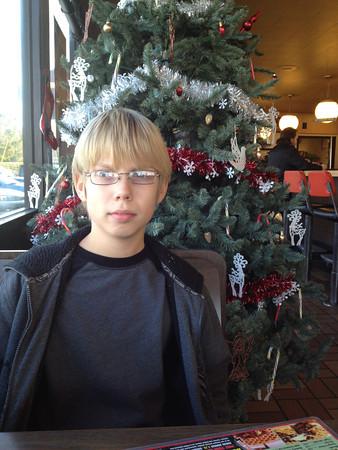 2012/12/24-1 - Waffle House with Boys