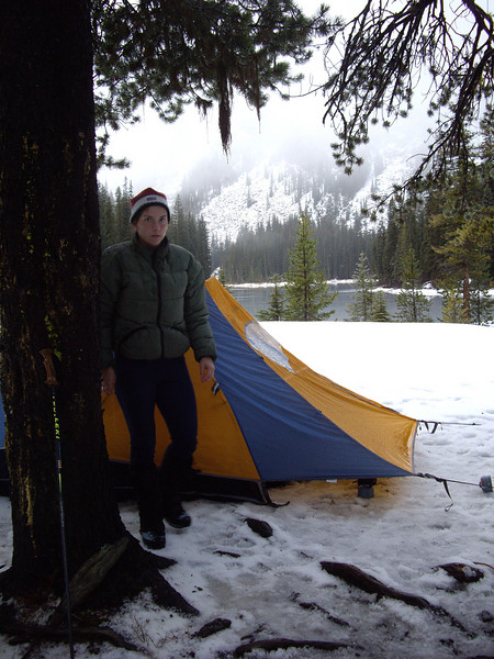 At Nada Lake on Saturday.  The picture doesn't do the downpouring freezing rain justice.