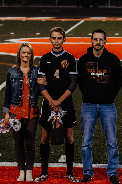Soccer Senior Night 2018