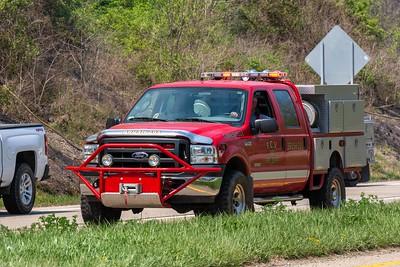 04-27-21 Jackson Twp. FD - Grass Fire