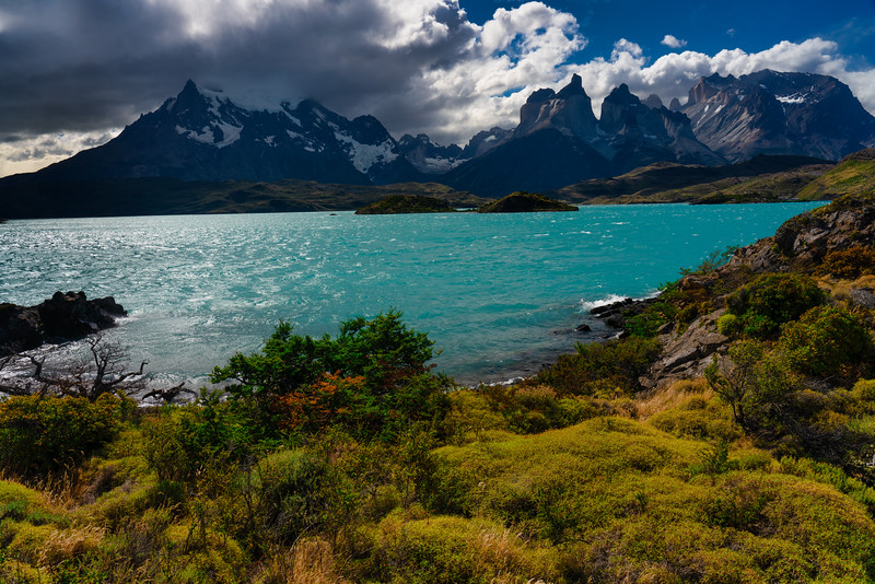 Glacial Lake, Torres Del Paine National Park