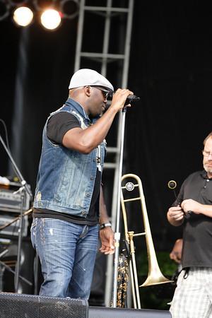 2013 Richmond Jazz Festival - Big Sam's Funky Nation 8-10-13