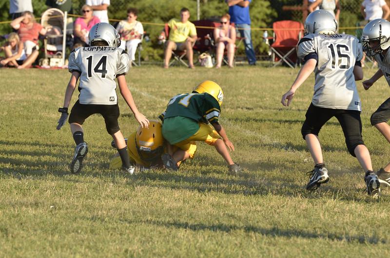 Wildcats vs Raiders Scrimmage 153.JPG
