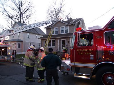 11-23-08 Bergenfield, NJ - Working Fire