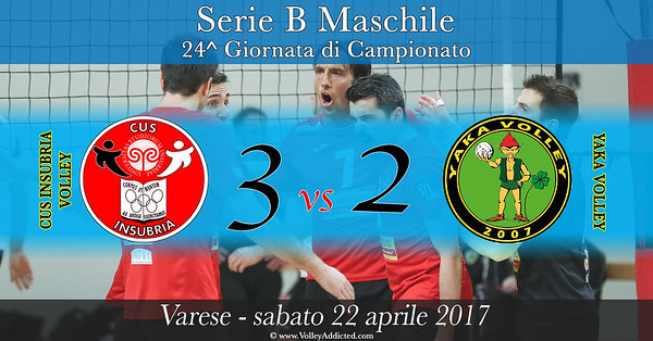 24^ CUS Insubria Volley - Yaka Volley Malnate