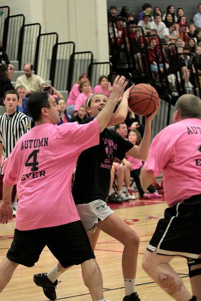 Sandy Run student/faculty basketball game
