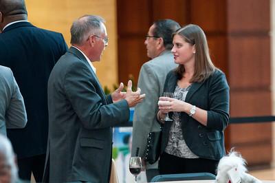 NHCC Member Reception & Dinner @ Wells Fargo Atrium 10-8-14  by Jon Strayhorn