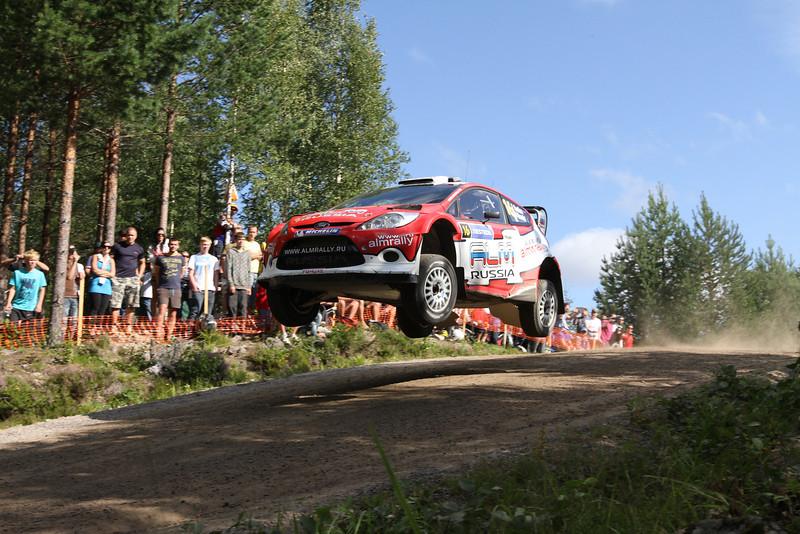 MOTORSPORT - WORLD RALLY CHAMPIONSHIP 2011 - FINLAND RALLY / RALLYE DE FINLANDE - JYVASKYLA (FIN) - 29 TO 31/07/2011 - PHOTO: BASTIEN BAUDIN / DPPI -