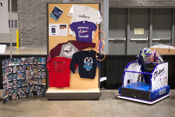 FIRST - Greater DC  5 Year Celebration Display