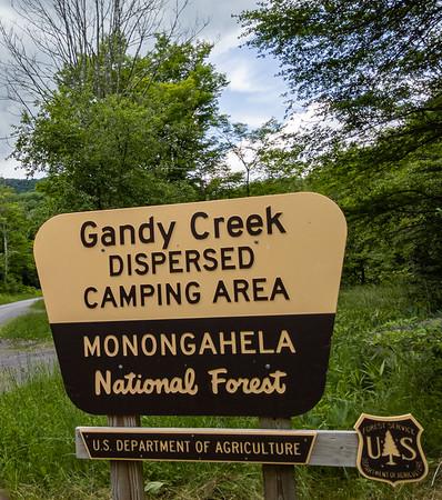 06_Gandy Creek Disbursed Camping Area - Dry Forks, WV