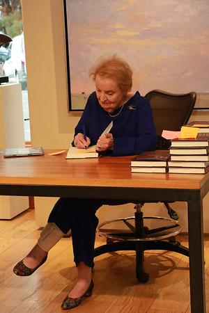 AKG, Madeleine Albright Book Signing