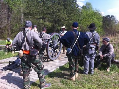 BSA Troop 68 visits Civil War Adventure Camp