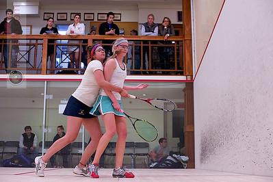 2012-03-03 Elena Laird (Middlebury) and Chanel Erasmus (Trinity)
