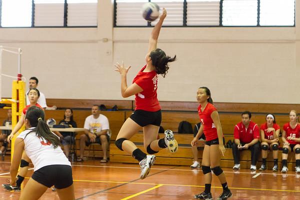 2013 JV Red Volleyball