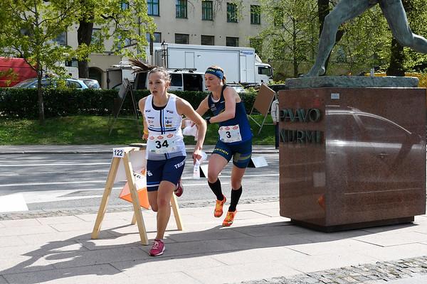 Suunnistus, MC, Turku, sprinttiviesti