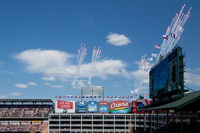 Rangers Blue Jays May 2012