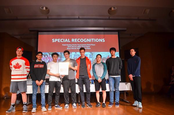 HS Sports Awards for Season 2 & 3