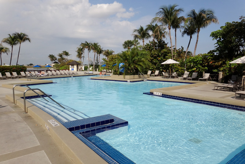 Hilton Miami Airport Pool - probably the nicest airport hotel pool I've been in.