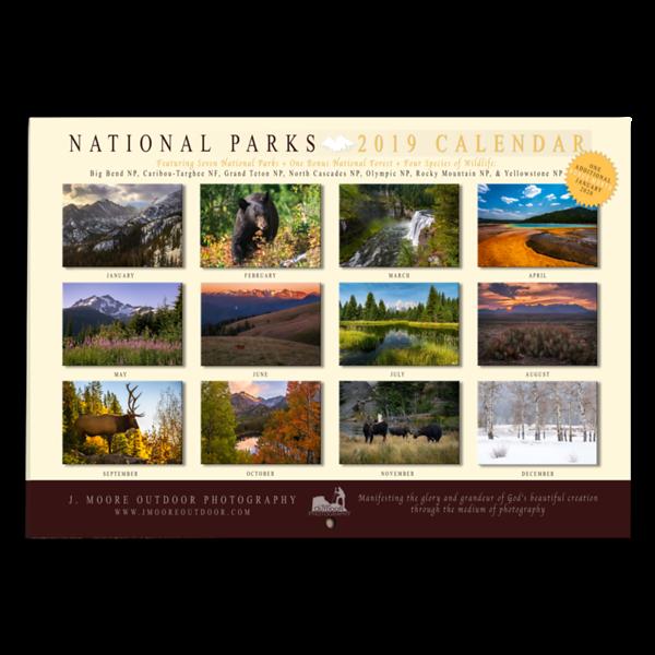 2019 Calendar PNGs