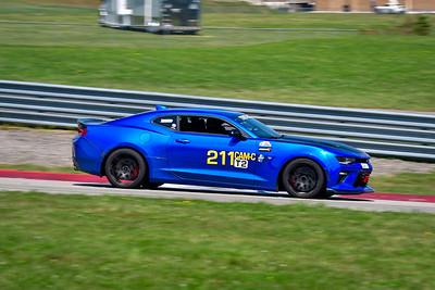 2021 SCCA Pitt Race Aug TT Blu 211 Camaro