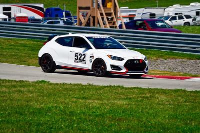 2021 SCCA Pitt Race Aug TT White 522 Hyundai