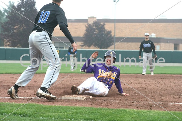 Blissfield baseball 2018