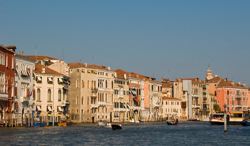 Cannaregio Palaces, Grand Canal, Venice, Italy