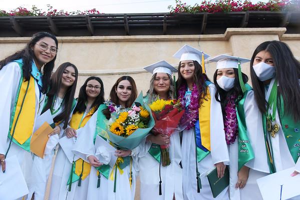 2021 San Gabriel Mission High School Graduation