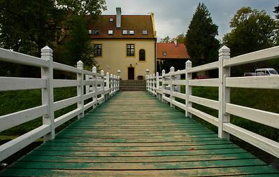 Krokowa Schloss - Łebska Wanderdüne (25. September 2014)