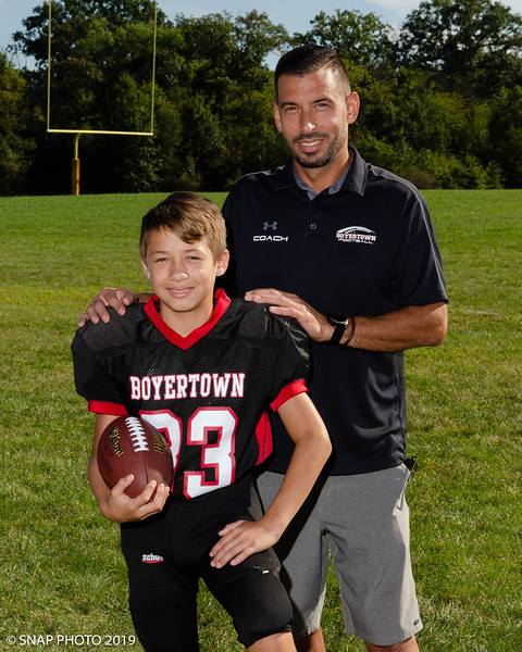 2019 Boyertown Optimist Coach-Player Shots